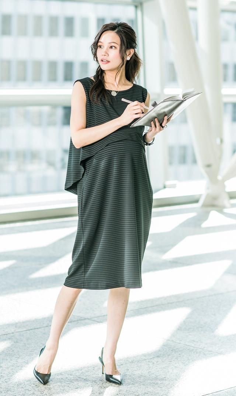 【ヴィリーナ(VIRINA)】ゾフィーナーシングドレス(ブラック)