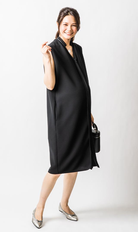 【ヴィリーナ】クレア2wayドレス(ブラック)