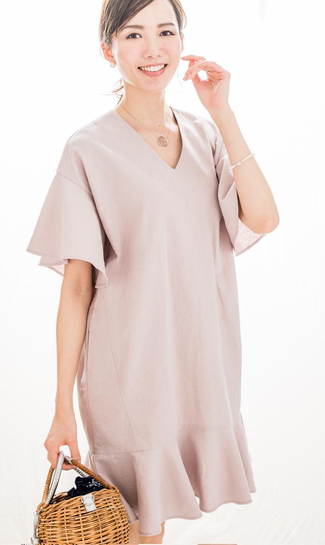 【ヴィリーナ(VIRINA)】デイジーナーシングドレス(ピンク)