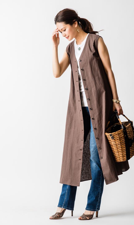 【ヴィリーナ(VIRINA)】ミシェルナーシング2WAYドレス(ブラウン)