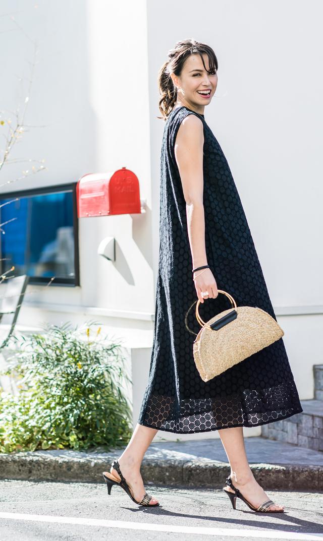 【ヴィリーナ(VIRINA)】ソフィーナーシングロングドレス(ブラック)