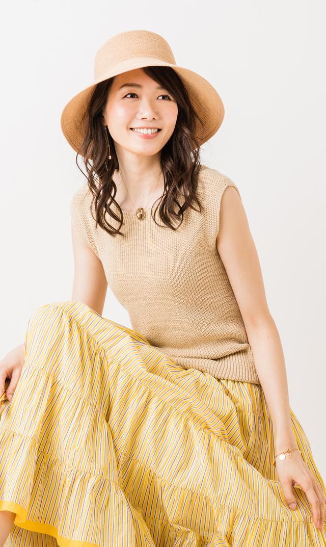 【ヴィリーナ(VIRINA)】サリー2WAYニットトップス(ライトベージュ)