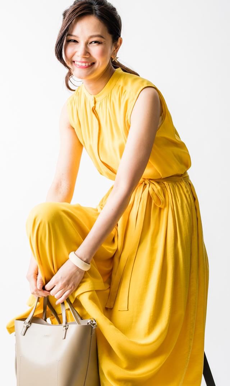 【ヴィリーナ(VIRINA)】リラナーシングドレス(イエロー)