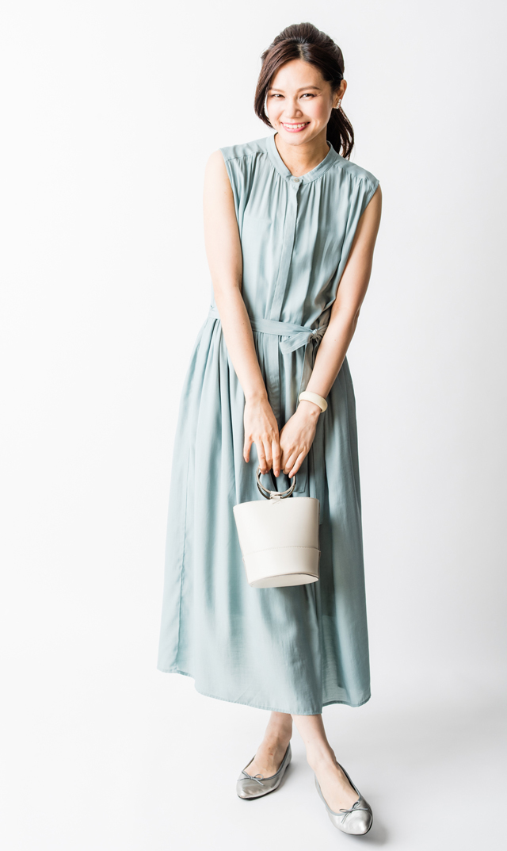 【ヴィリーナ(VIRINA)】リラナーシングドレス(ミント)