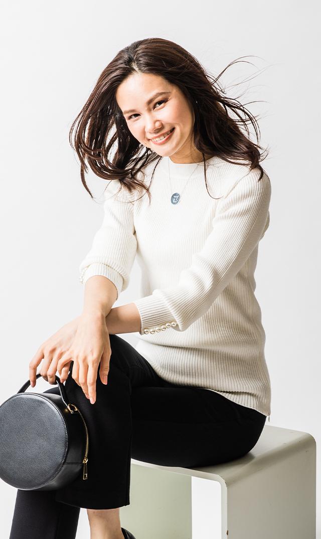 【ヴィリーナ】カーラパールナーシングニット(ホワイト)