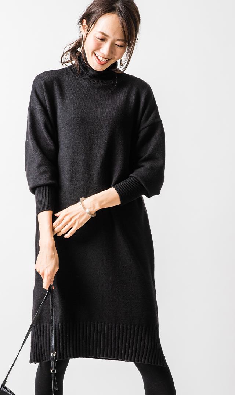 【ヴィリーナ】ブレンダナーシングドレス(ブラック)[1129TIMEセール]