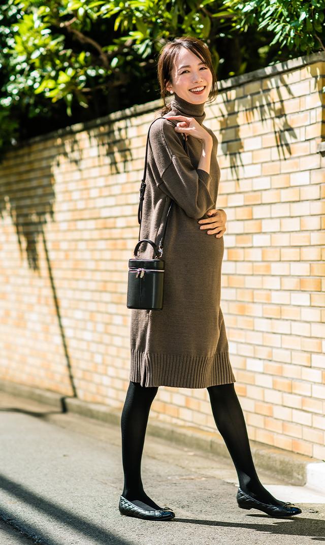 【ヴィリーナ】ブレンダナーシングドレス(ヘザーブラウン)