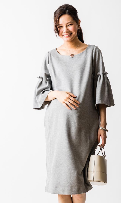 【ヴィリーナ】レイチェルナーシングドレス(グレー)