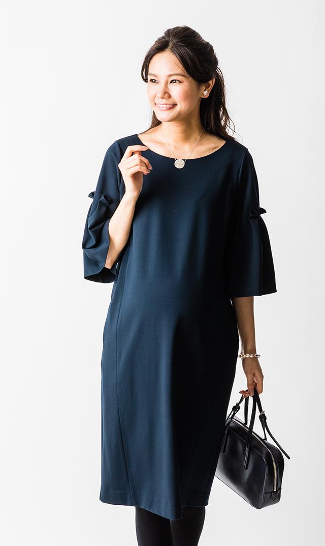 【ヴィリーナ(VIRINA)】レイチェルナーシングドレス(ネイビー)