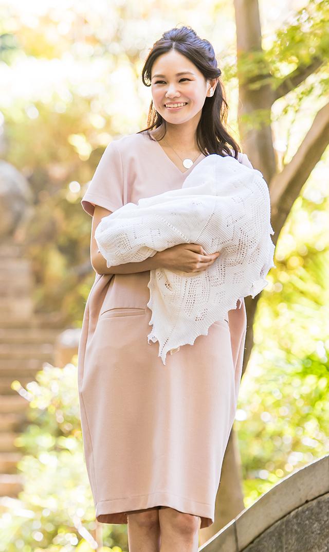 【ヴィリーナ】セーラナーシングドレス(シェルピンク)