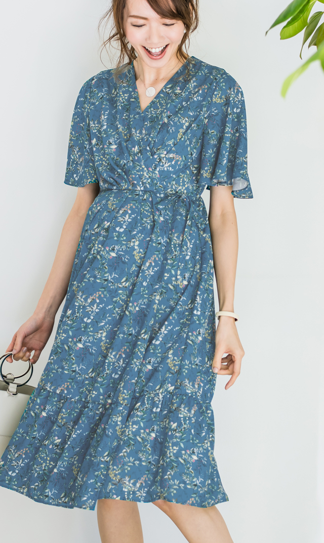 【ヴィリーナ】アリーナーシングドレス(ブルー)