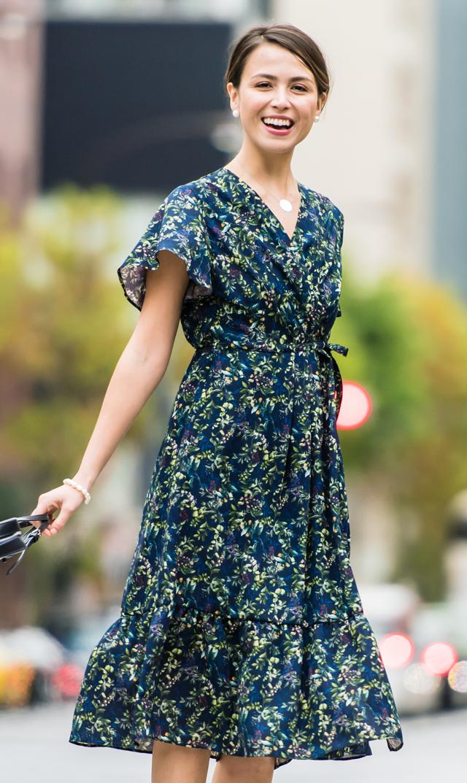 【ヴィリーナ】アリーナーシングドレス(ネイビー)