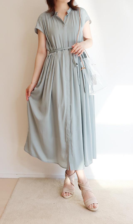 【ヴィリーナ】リラナーシングドレス(ミント)