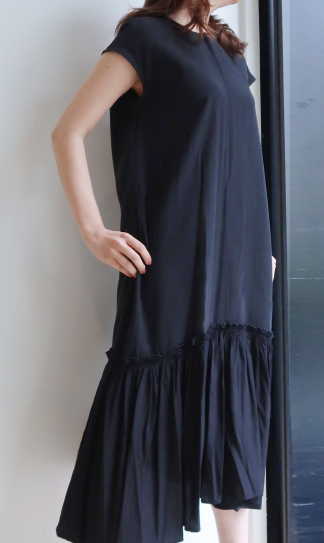 【ヴィリーナ】ニコナーシングドレス(ブラック)
