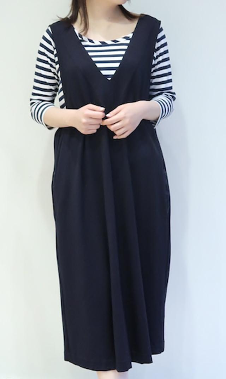 【ヴィリーナ】ココジャンパースカート(ブラック)