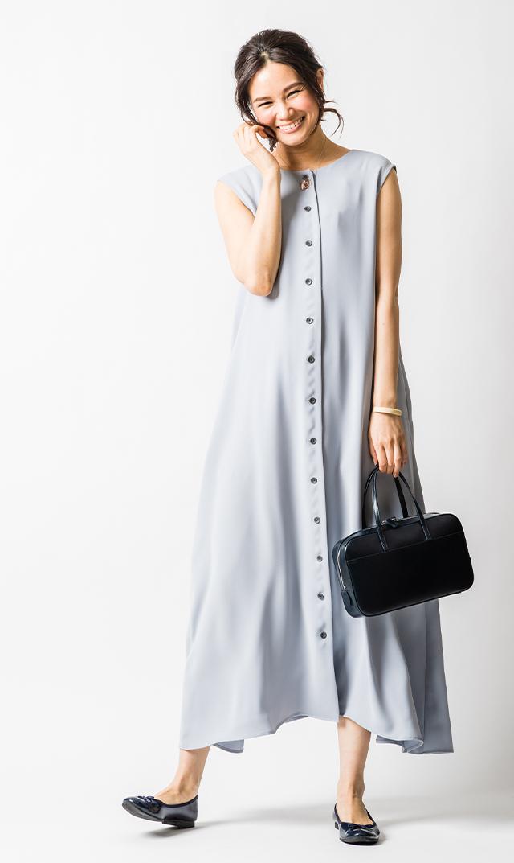 【ヴィリーナ】サシャ4wayナーシングドレス(ペールブルー)
