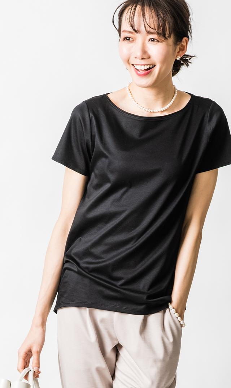【ヴィリーナ】オリビアTシャツ(ブラック)※6月末再入荷予定