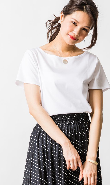 【ヴィリーナ】オリビアTシャツ(ホワイト)※6月上旬再入荷予定