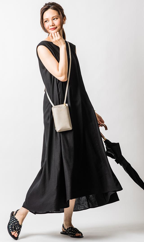 【ヴィリーナ】ハーモニーナーシングドレス(ブラック)