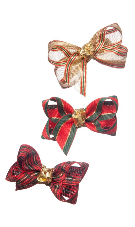 【ヴィリーナ(VIRINA)】クリスマスヘアクリップ