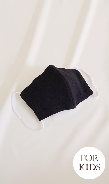 【ヴィリーナ】立体布マスク/子供用(ネイビー)※4月3日(金)再入荷予定
