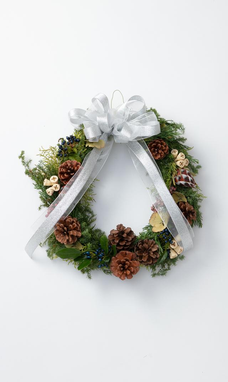 """【かるかや】数量限定ヴィリーナ別注クリスマスフレッシュリース""""B"""""""