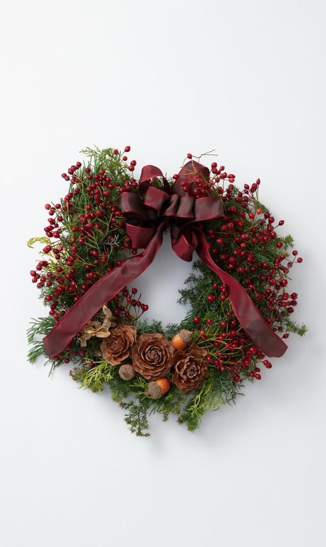 """【かるかや】数量限定ヴィリーナ別注クリスマスフレッシュリース""""C"""""""