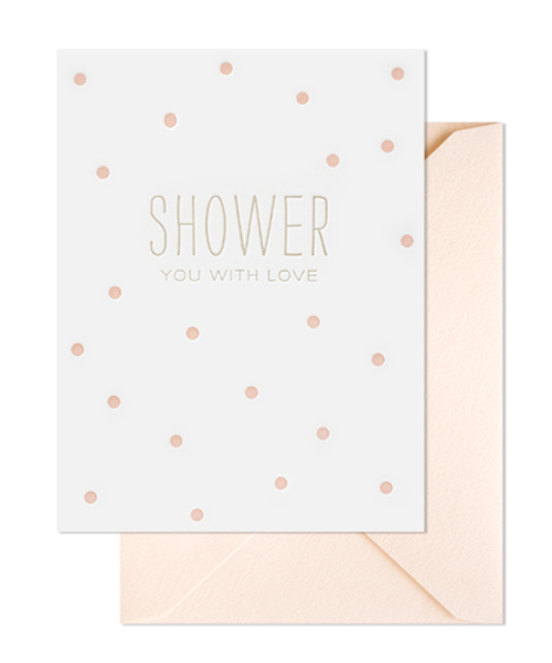 【シュガーペーパー】shower you with love, pale pink