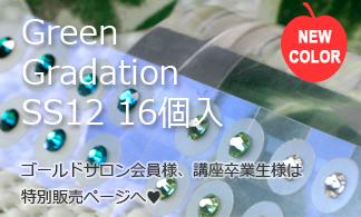 新発売 グリーングラデーション SS12 16個入