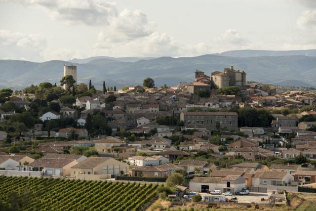 ピュイサリコンの村、人口は1000人あまり。