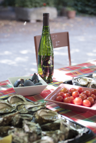 ピクプール・ド・ピネは魚介類と良く合います