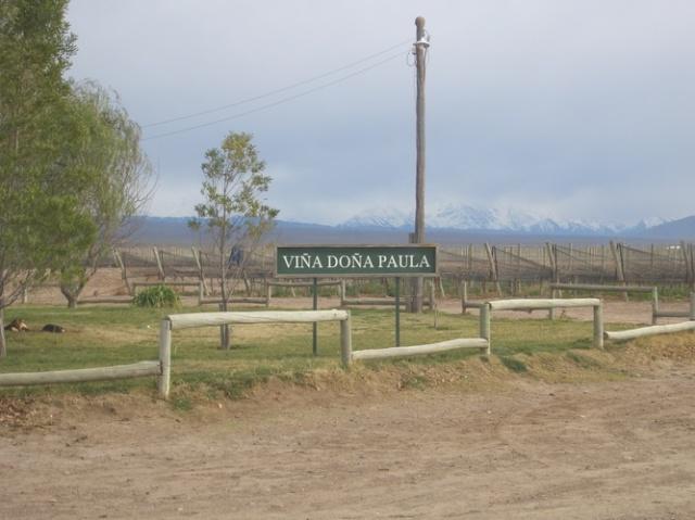 畑とアンデス山脈