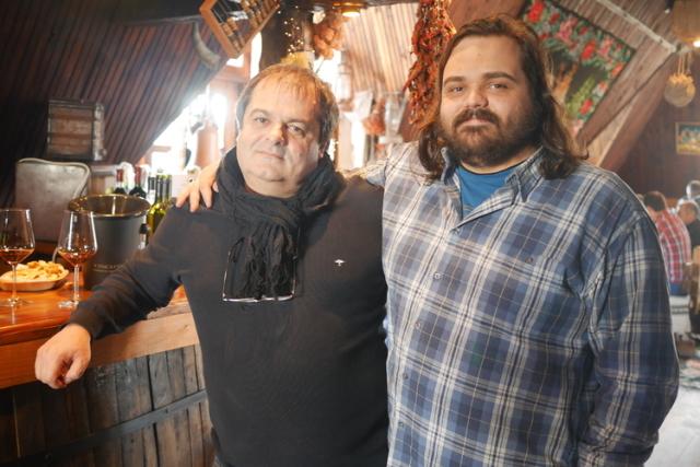 アナトー氏(左)・アンドレイ氏(右)