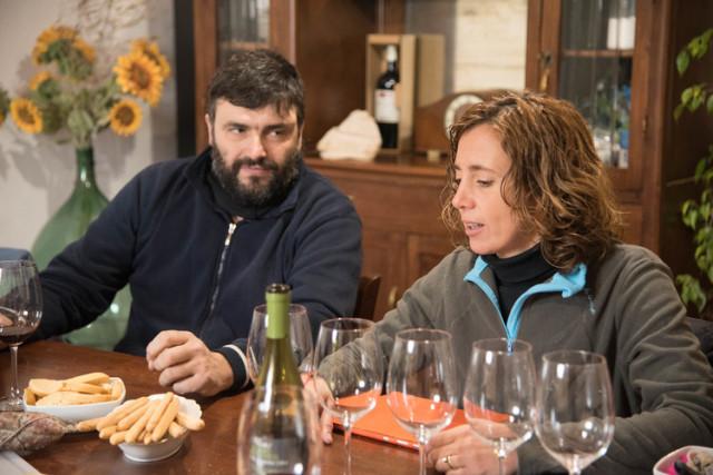 オーナーのステファノ氏と妻のアレシア氏