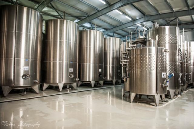最新の醸造設備