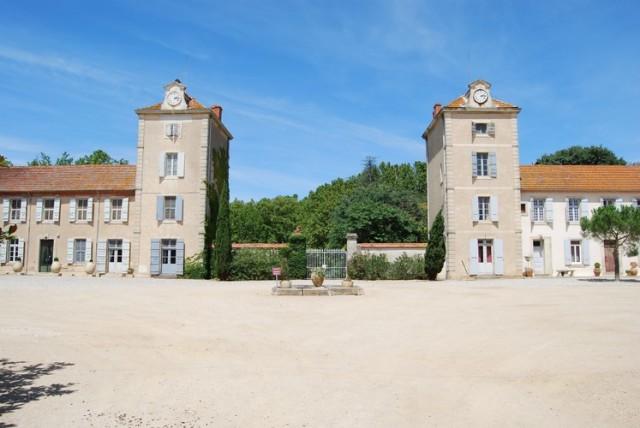 19世紀から建てられているプルニェ・ド・ヌフの城