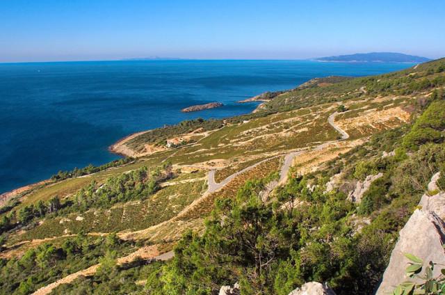 アドリア海に面したディンガッチの区画