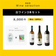 ape 白ワイン3本セット