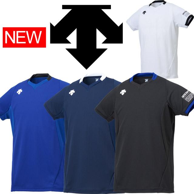 【1枚までメール便OK】デサント(DESCENTE) バレーボール 半袖ライトゲームシャツ [DSS-5920] 練習着にも 2019新作