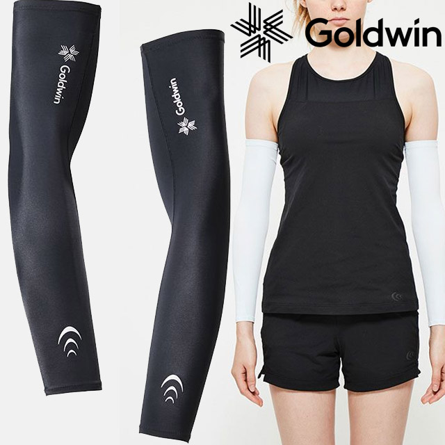 【2組までメール便OK】Goldwin(ゴールドウィン) C3fit UNI インスピレーションアームスリーブ [GC09390] UVカット 日焼け止め 筋トレ マラソン ランニング 両腕【即日出荷】