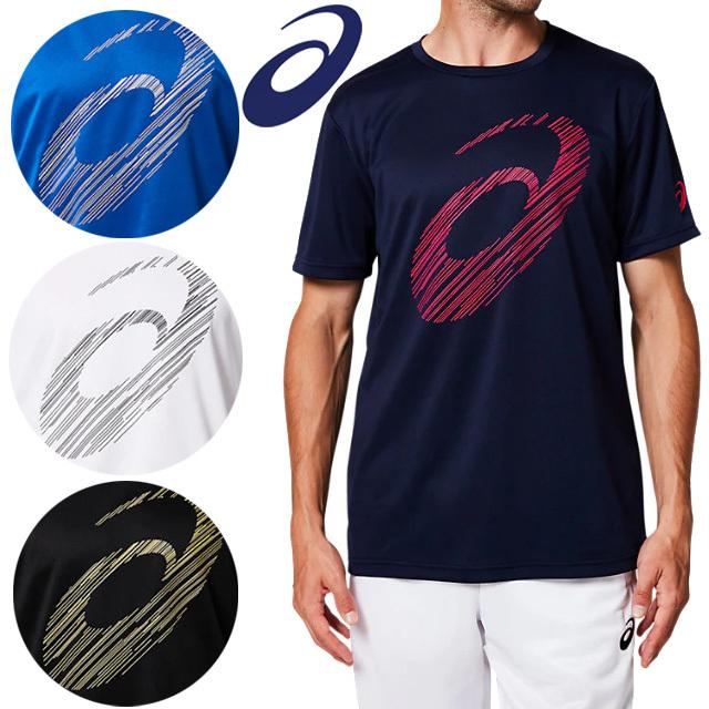 【1枚までメール便OK】アシックス(asics) Tシャツ ビッグロゴショートスリーブトップ [2031A669] 新作
