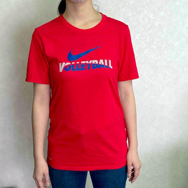 【1枚までメール便OK】ナイキ(NIKE) ランニング トレーニングTシャツ [56146VB49] スカーレット 男女兼用サイズ(ユニセックス)【2021新作】