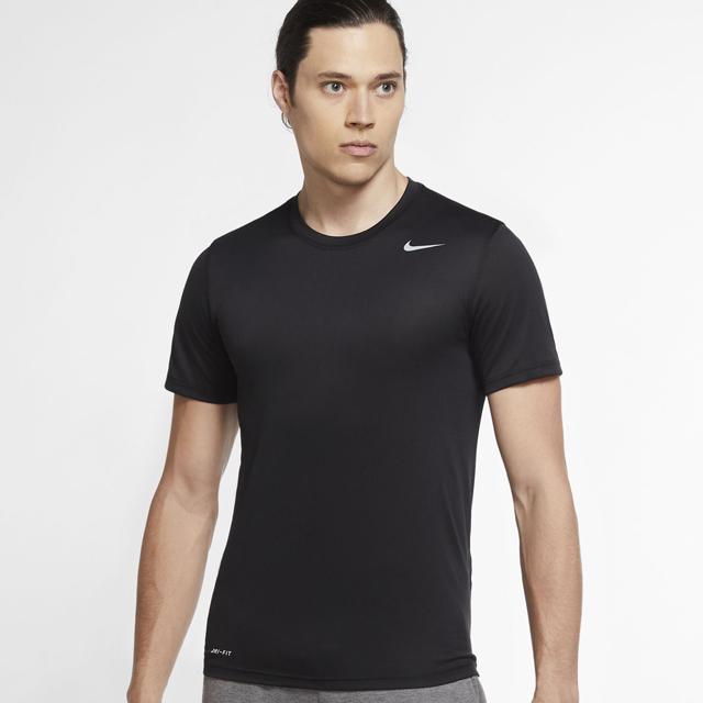 【1枚までメール便OK】ナイキ(NIKE) ランニング ドライフィット DF レジェンド S/S Tシャツ [718834-010] ブラック 夏【2020新作】