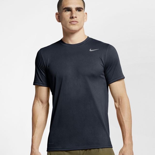 【1枚までメール便OK】ナイキ(NIKE) ランニング ドライフィット DF レジェンド S/S Tシャツ [718834-451] オブシディアン 夏【2020新作】