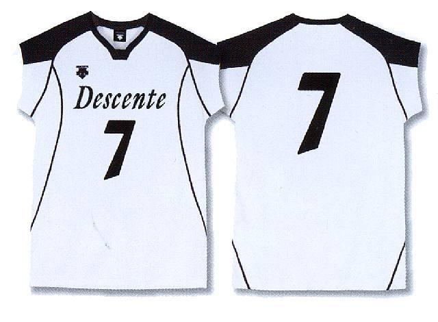 デサントフレンチゲームシャツ/DSS4632(男女兼用サイズ)