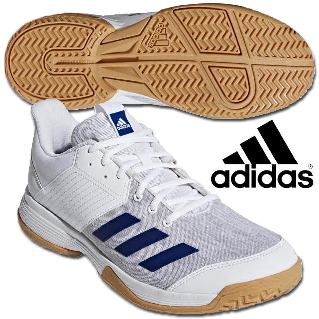 【即納】アディダス(adidas) メンズ バレーボールシューズ リグラ 6 [CP8904] ランニングホワイト/ミステリーインクF17/グレーTWO F17 2018新作 EFX53