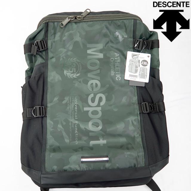 【新作】デサント(DESCENTE) リュックサック スクエアバックパック [DMALJA04-JKHK] 即納 30L