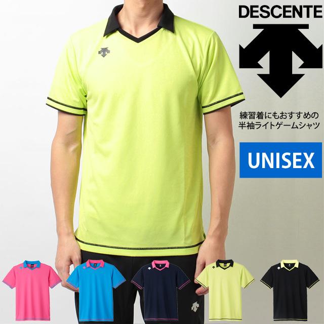 【1枚までメール便OK】新作!デサント(DESCENTE) バレーボール 半袖ライトゲームシャツ(ユニセックス) [DSS-5620] ユニフォーム【練習着にも!】