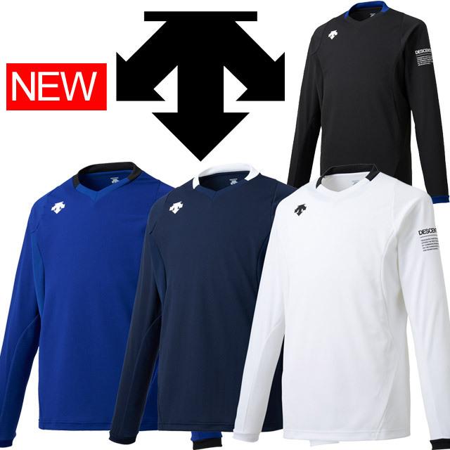 【1枚までメール便OK】デサント(DESCENTE) バレーボール 長袖ライトゲームシャツ [DSS-5910] 練習着にも 2019新作