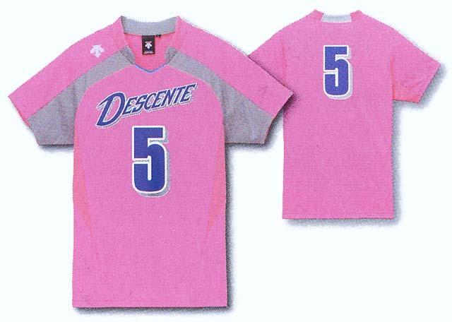 デサント半そでゲームシャツ/DSS4126W(レディスサイズ)